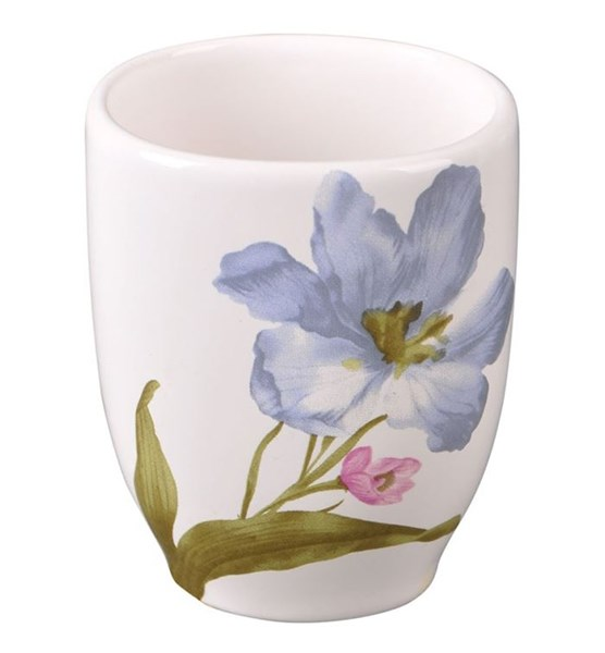 """Стакан для щеток """"Голубой цветок"""" - фото 13563"""