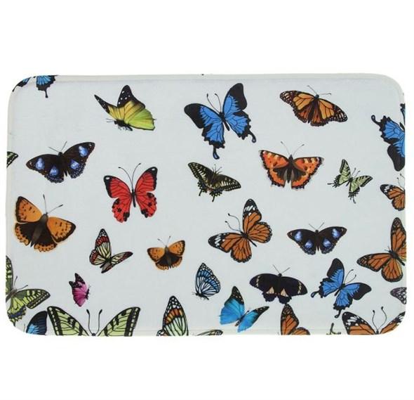 """Коврик для ванной """"Бабочки"""" 60х40 см - фото 13638"""