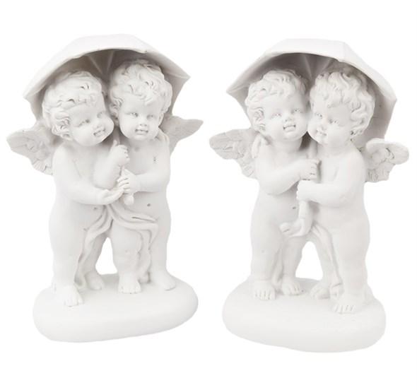 """Статуэтка """"Ангелы под зонтом"""" в ассортименте - фото 13859"""