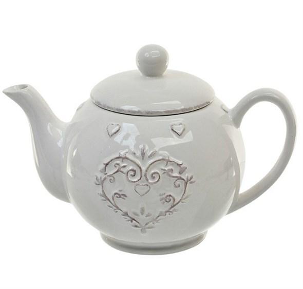 """Чайник """"Винтажное сердце"""" - фото 13906"""