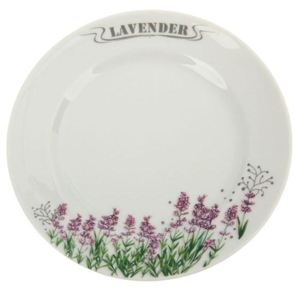 """Тарелка """"Лаванда"""" диаметр 17 см - фото 13955"""