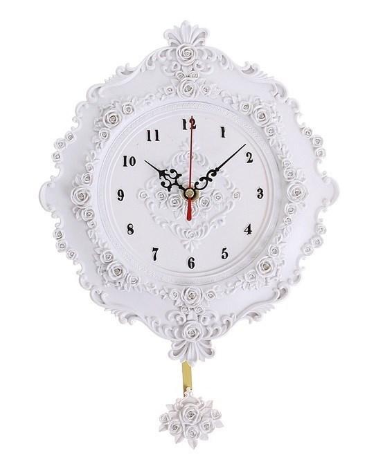 """Часы настенные с маятником """"Розочки"""" - фото 14161"""