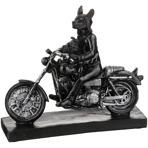 """Статуэтка """"Две собаки на мотоцикле"""" - фото 14164"""