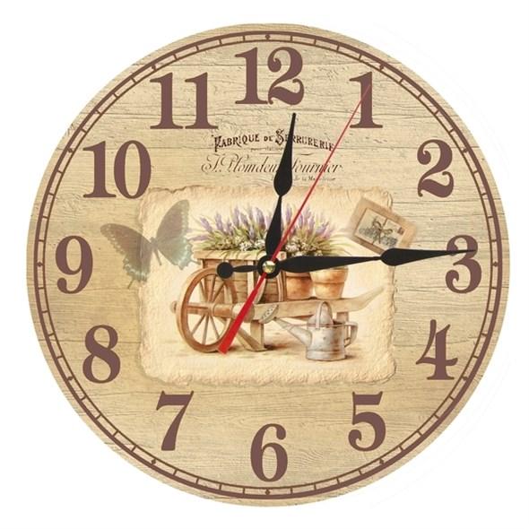 """Часы настенные """"Садик в Провансе"""" - фото 14258"""