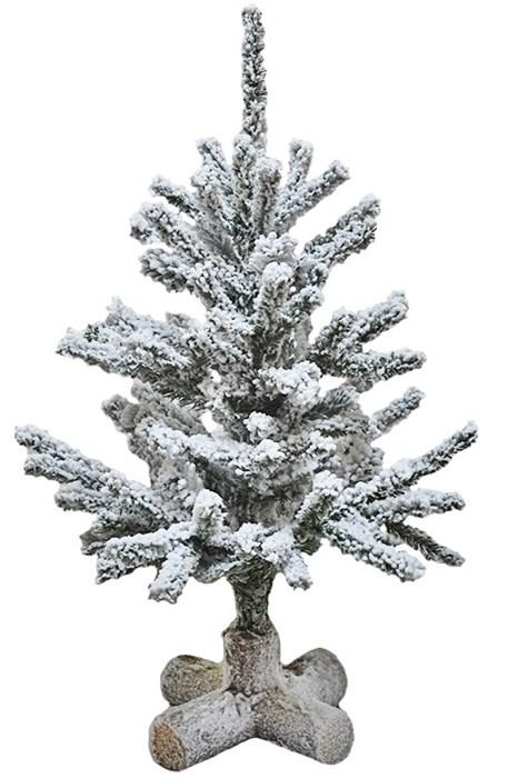 Искусственная ель заснеженная высота 63 см - фото 14491