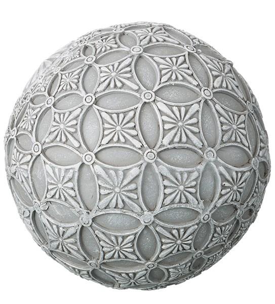 "Статуэтка ""Шар кружевной"" диаметр 10 см - фото 14525"