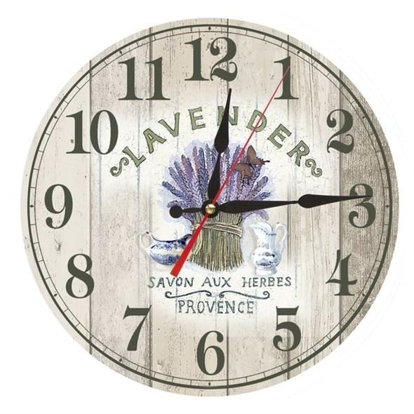 """Часы настенные """"Лаванда"""" - фото 14824"""