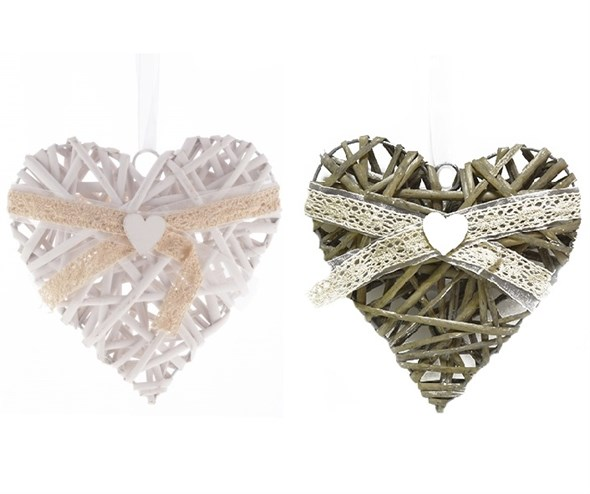 "Подвесное украшение ""Сердце"" 20х20 см, цена за штуку - фото 14996"