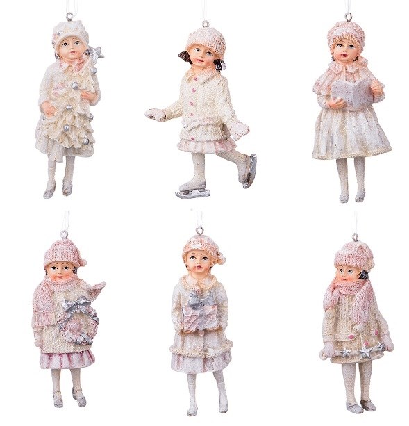 "Елочная игрушка ""Дети"" в ассортименте 5 шт, цена за 1 шт - фото 15078"