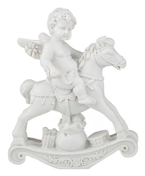 """Статуэтка """"Ангел на лошади"""" - фото 15362"""