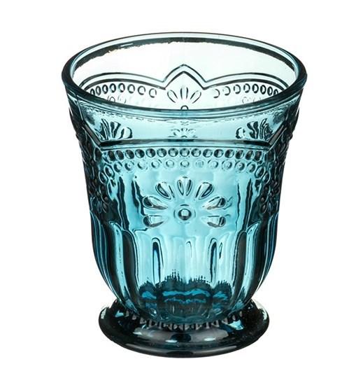 """Стакан """"Версаль"""" синий 250 мл - фото 15613"""