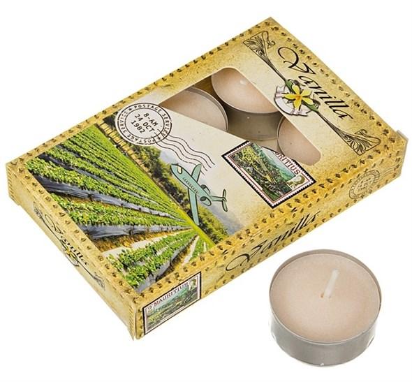 """Набор """"Ваниль"""" из шести ароматизированных свечей - фото 15615"""