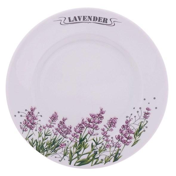 """Тарелка """"Лаванда"""" диаметр 20 см - фото 15718"""