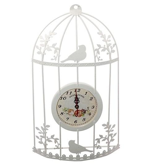 """Часы настенные """"Птичья клетка"""" - фото 15883"""
