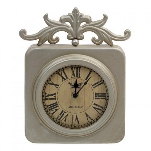 """Часы настенные """"Отель Париж"""" бронзовые - фото 15938"""