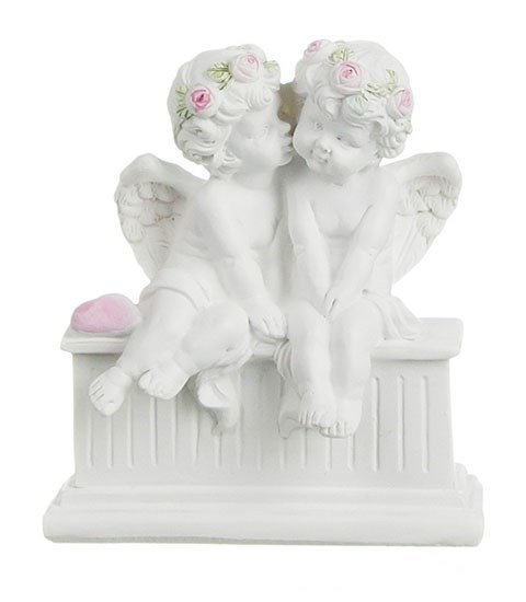 "Статуэтка ""Ангелы на подставке"" - фото 16019"