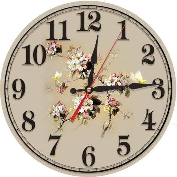 """Часы настенные """"Сакура"""" - фото 16130"""