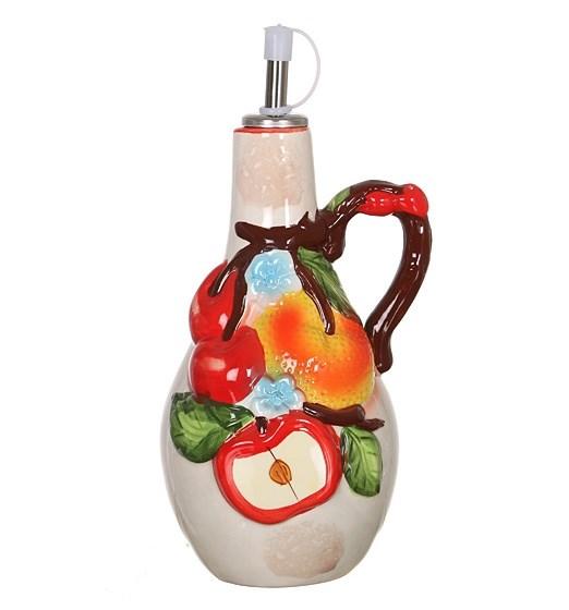 "Бутылка для масла и уксуса ""Фруктовая"" 500 мл - фото 16156"