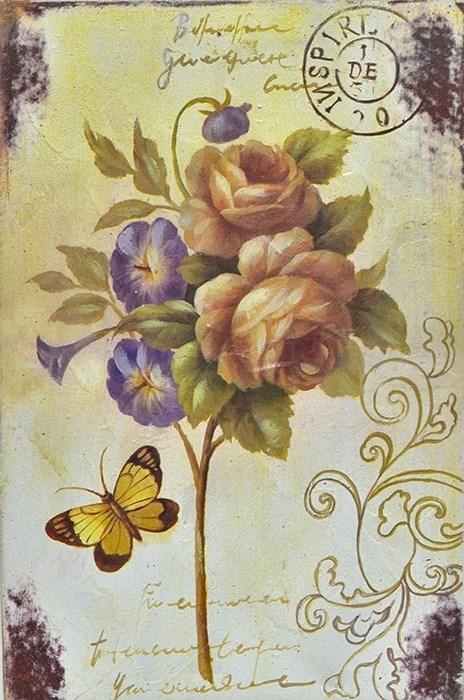 """Панно вертикальное """"Роза"""" - фото 16273"""