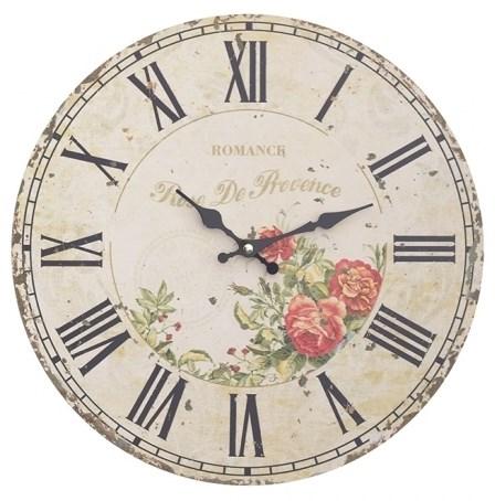 """Часы настенные """"Розы Прованса"""" - фото 16456"""
