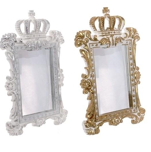 """Зеркало настольное """"Корона"""" в ассортименте - фото 16623"""