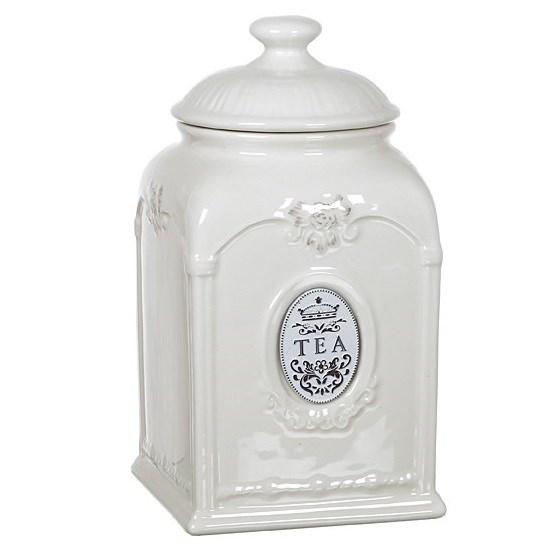 """Банка для сыпучих """"Чай"""" серия """"Медальон"""" - фото 16667"""