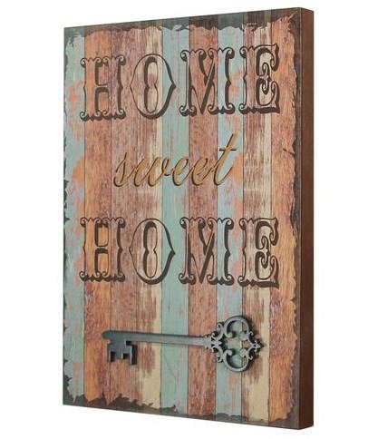 "Панно ""Дом, милый дом / Home sweet home"" 30х42 см - фото 16990"