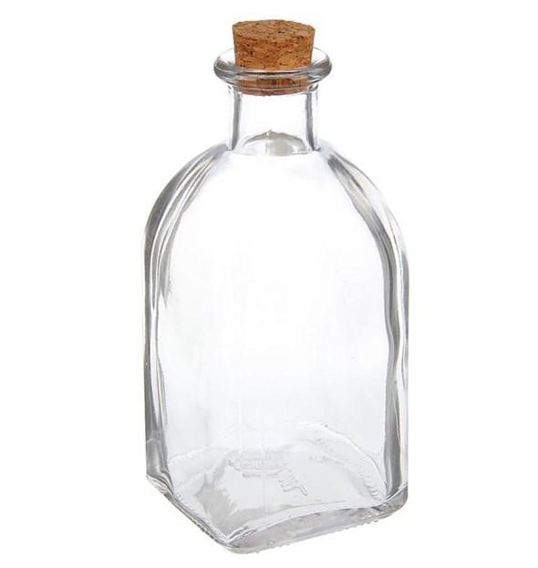 Бутылка стеклянная 250 мл - фото 17404