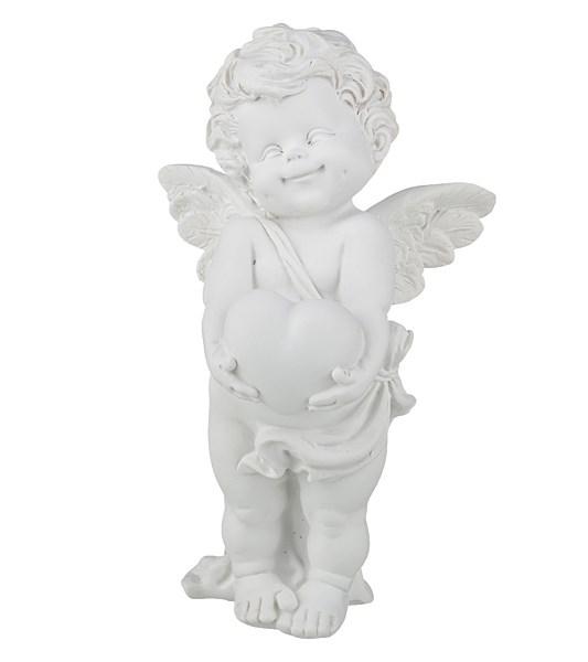 """Статуэтка """"Ангел с сердцем"""" высота 17 см - фото 17578"""
