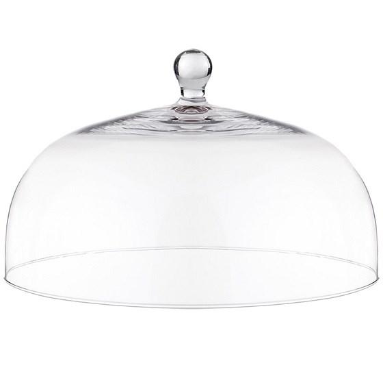 Клош стеклянный диаметр 30 см - фото 17598
