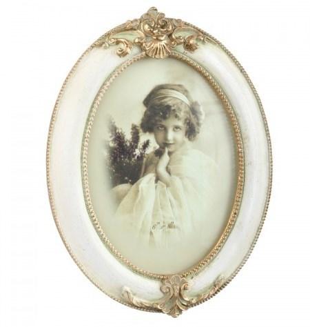 """Фоторамка """"Мэрилин"""" овальная для фотографии 10х15 см - фото 17819"""