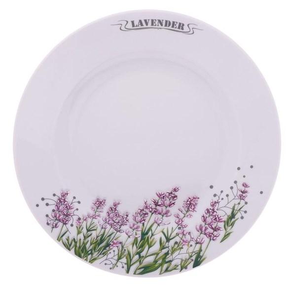 """Тарелка """"Лаванда"""" диаметр 24 см - фото 17880"""