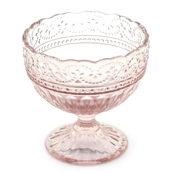 """Креманка """"Кружево"""" из цветного стекла - фото 18148"""