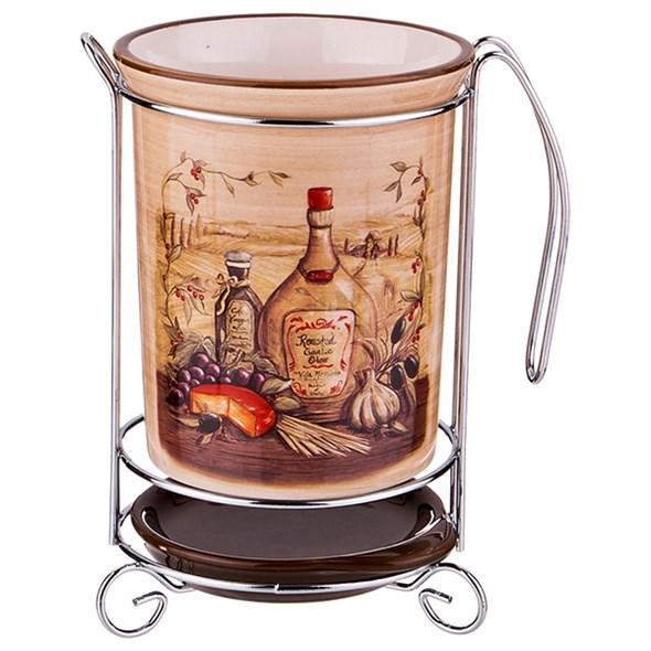"""Подставка для кухонных приборов """"Италия"""" - фото 18287"""