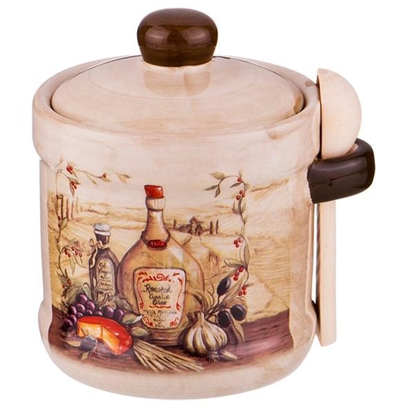 """Сахарница с ложечкой """"Италия"""" - фото 18288"""