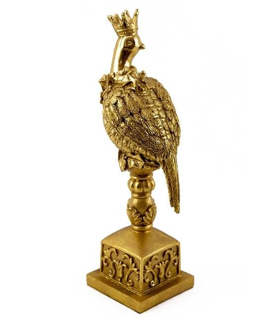 """Статуэтка """"Золотой фазан"""" высота 32 см - фото 18700"""