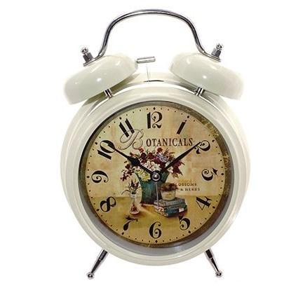 """Часы настольные-будильник """"Ботаника"""" высота 20 см - фото 19235"""