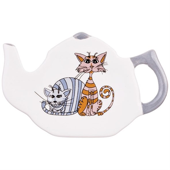 """Подставка под чайные пакетики """"Кошки"""" - фото 19432"""