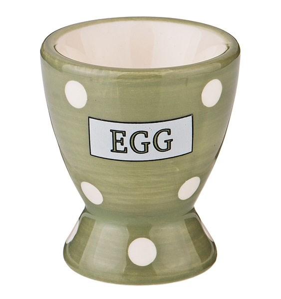 "Подставка под яйцо ""Горох"" зеленая - фото 19620"