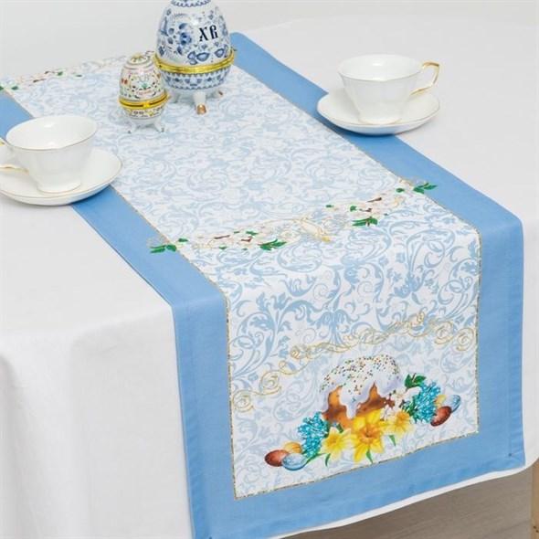 """Дорожка на стол """"Пасха 40х145 см - фото 20042"""