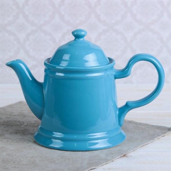 """Чайник заварочный """"Классика"""" 560 мл голубой - фото 20384"""