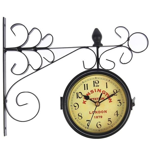 """Часы настенные двухсторонние """"Кенсингтон"""" - фото 20937"""