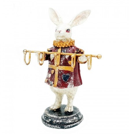 """Статуэтка """"Кролик с вешалкой"""" - фото 21134"""