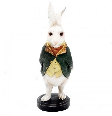 """Статуэтка """"Кролик в пиджаке"""" - фото 21139"""