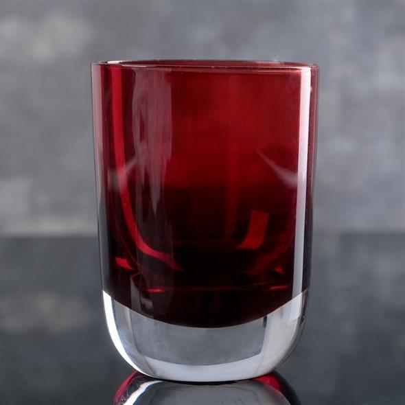 Стакан красный 350 мл - фото 21174