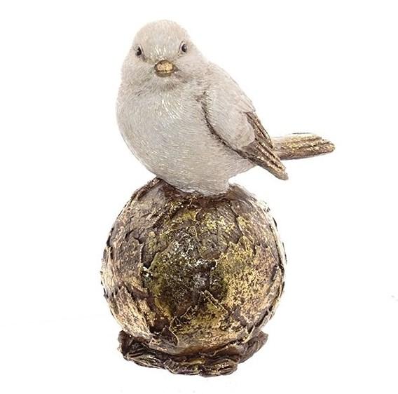 """Статуэтка """"Птичка на шаре"""" - фото 21525"""