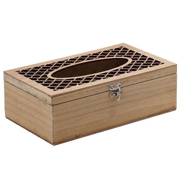 Салфетница деревянная - фото 21526