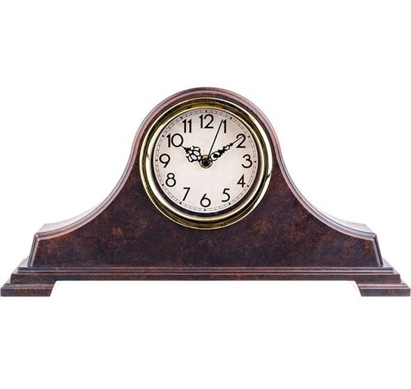 Часы настольные коричневые - фото 21802