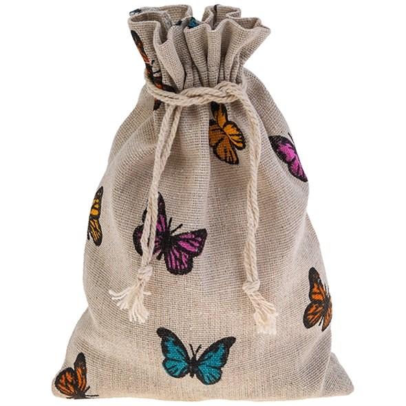 "Мешочек ""Бабочки"" 14х20 см - фото 21923"