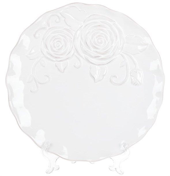 "Тарелка ""Роза"" 27 см - фото 21970"